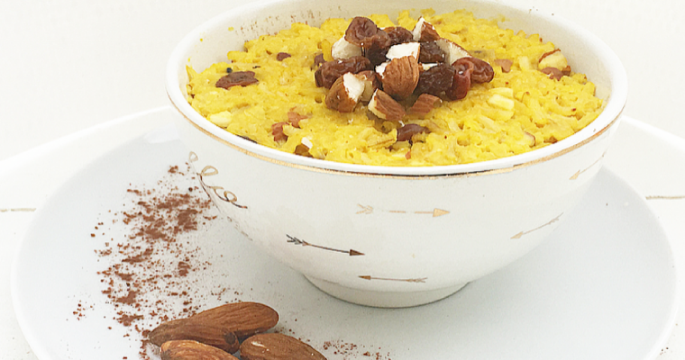 Kheer rice pudding – dall'india all'italia. #Vegan