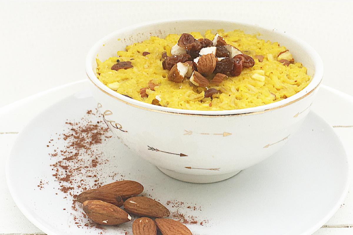 Kheer rice pudding – dall'india all'italia. #Vegan