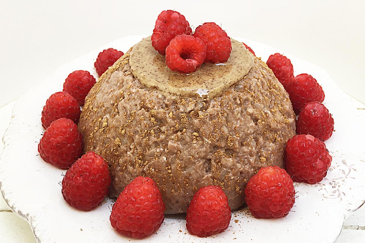 Tortino di avena al Nesquik – Per una colazione sana e golosa