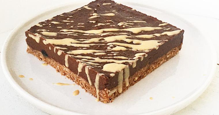 Cheesecake sana al cioccolato, fichi e cannella. – Con base alla #Delicious rivisitata.