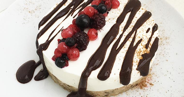 Cheesecake classica senza burro e zucchero. – Base alla #Delicious