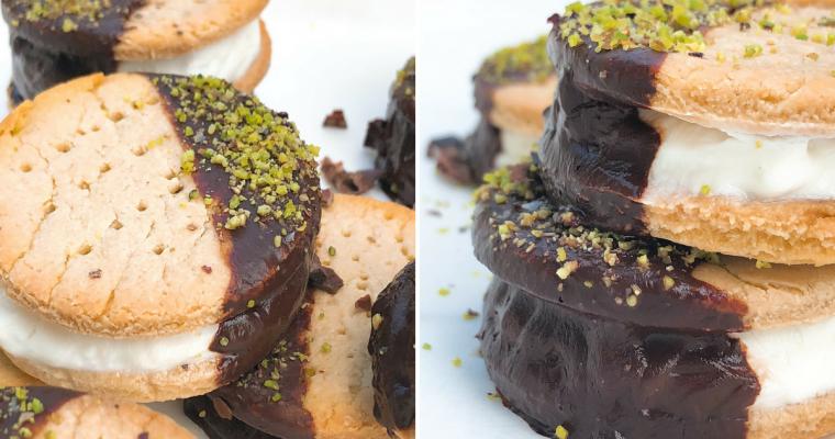 Biscotto Gelato alla stracciatella – Senza gelatiera!