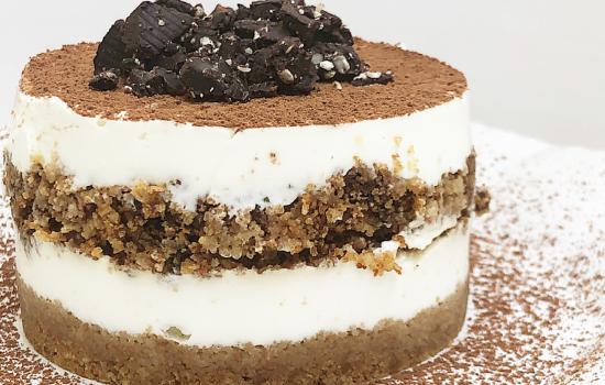 Tiramisù Cheesecake senza zucchero e burro – LactoseFree