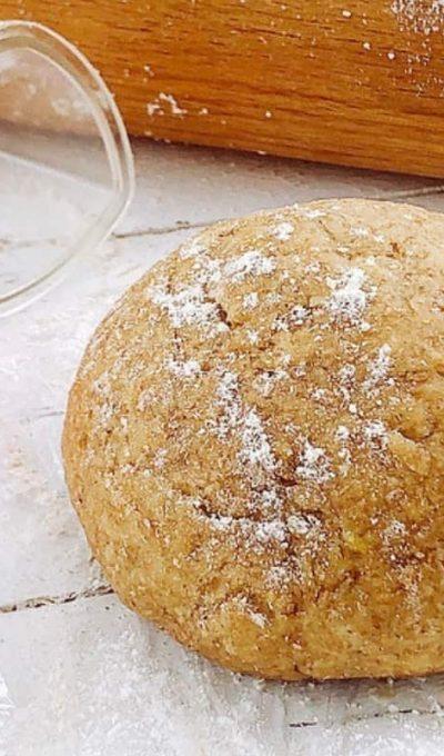 Pasta frolla integrale senza zucchero e burro con farina d'avena: ecco la mia ricetta.