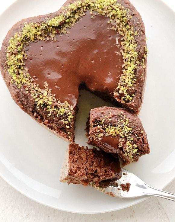 torta light al cioccolato
