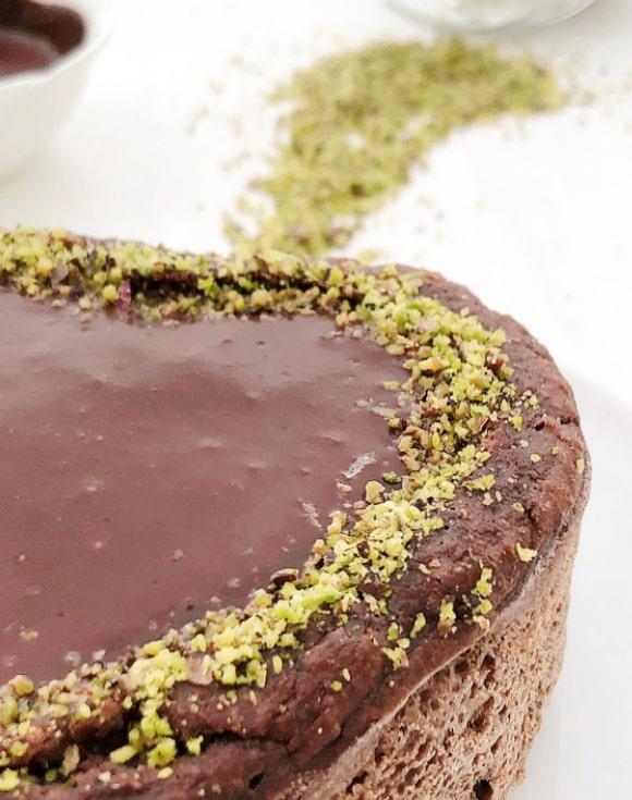 torta integrale al cioccolato