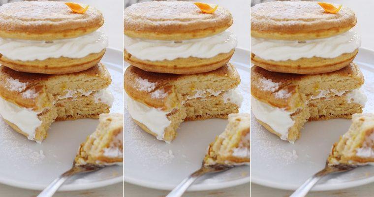 Pancakes farciti al sapore di Kinder Paradiso
