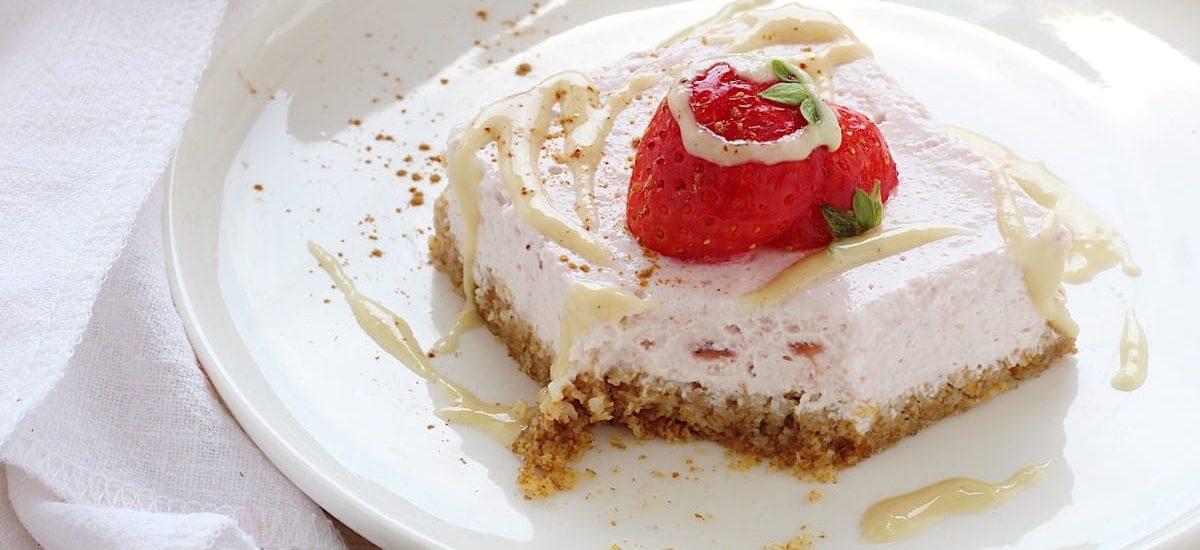 Cheesecake light con weetabix integrali