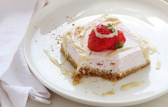 Cheesecake light con weetabix integrali