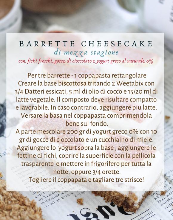 Barrette cheesecake