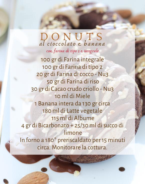 Donuts - cioccolato e banana