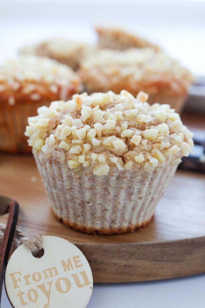 Muffin con cuore cremoso