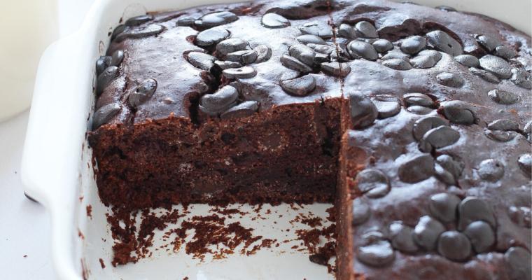 Torta brownies senza burro