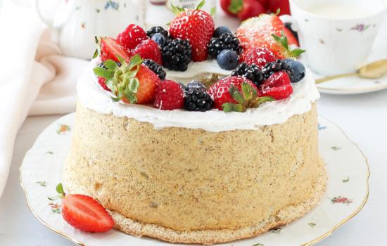 Angel Cake Integrale   Senza zucchero