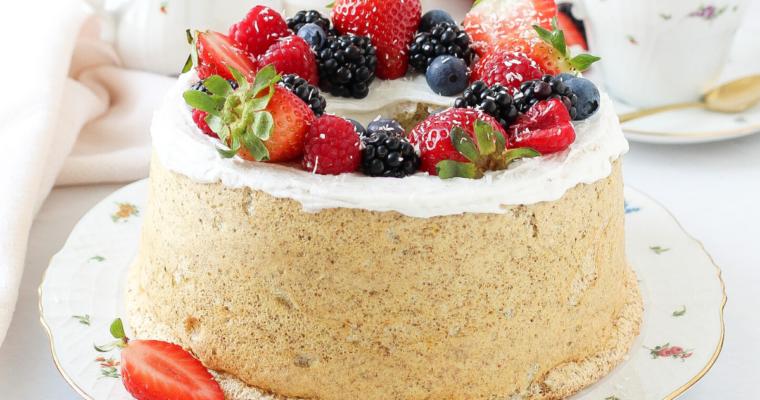 Angel Cake Integrale | Senza zucchero