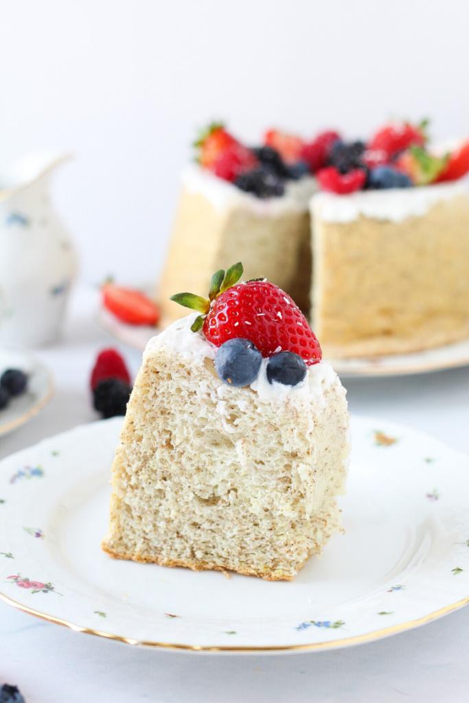 angel cake senza zucchero