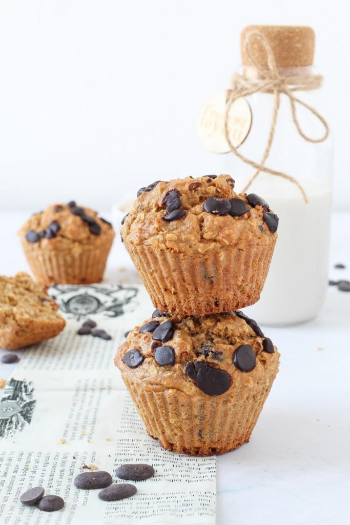 muffin con fiocchi d'avena