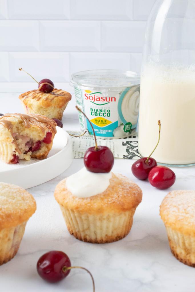 muffin light alle ciliegie