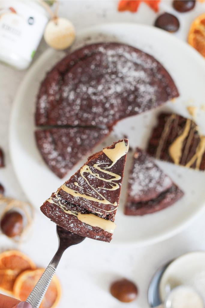 torta castagne e cacao