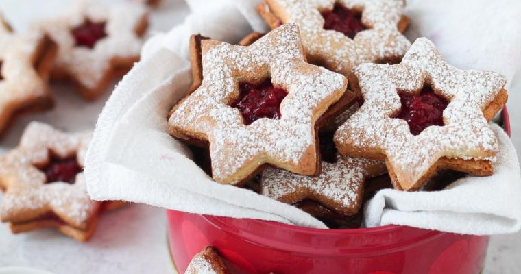 Linzer Cookies *con ghee