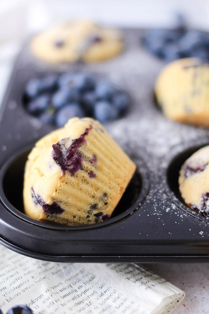 muffin senza glutine con farina di riso