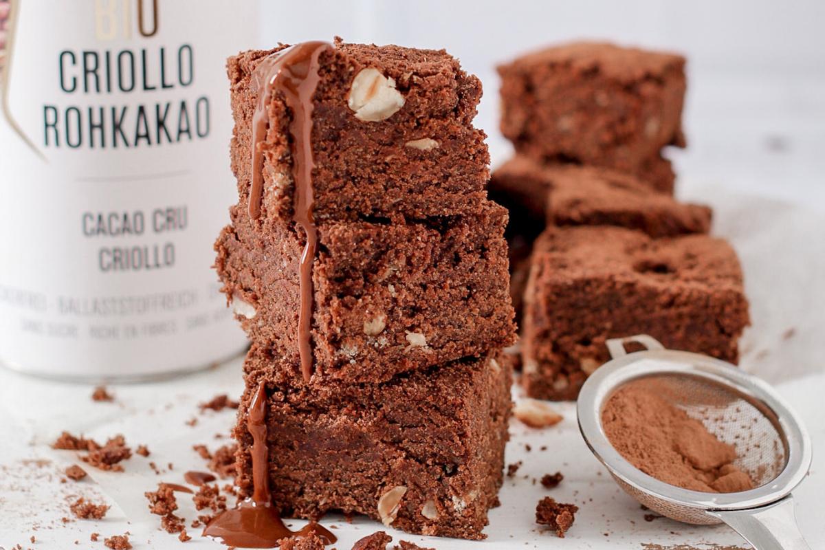 Brownies vegani e senza glutine al grano saraceno