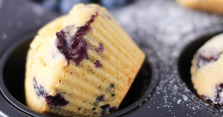 Muffin senza glutine con farina di riso integrale
