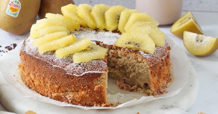 Torta ai Kiwi Sungold di Zespri
