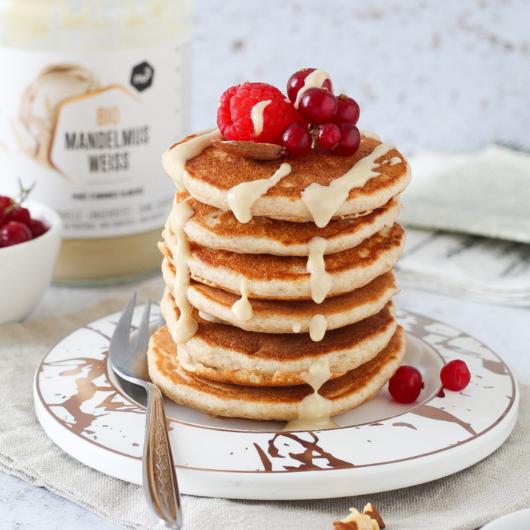 Pancakes integrali - senza zucchero aggiunto e lattosio