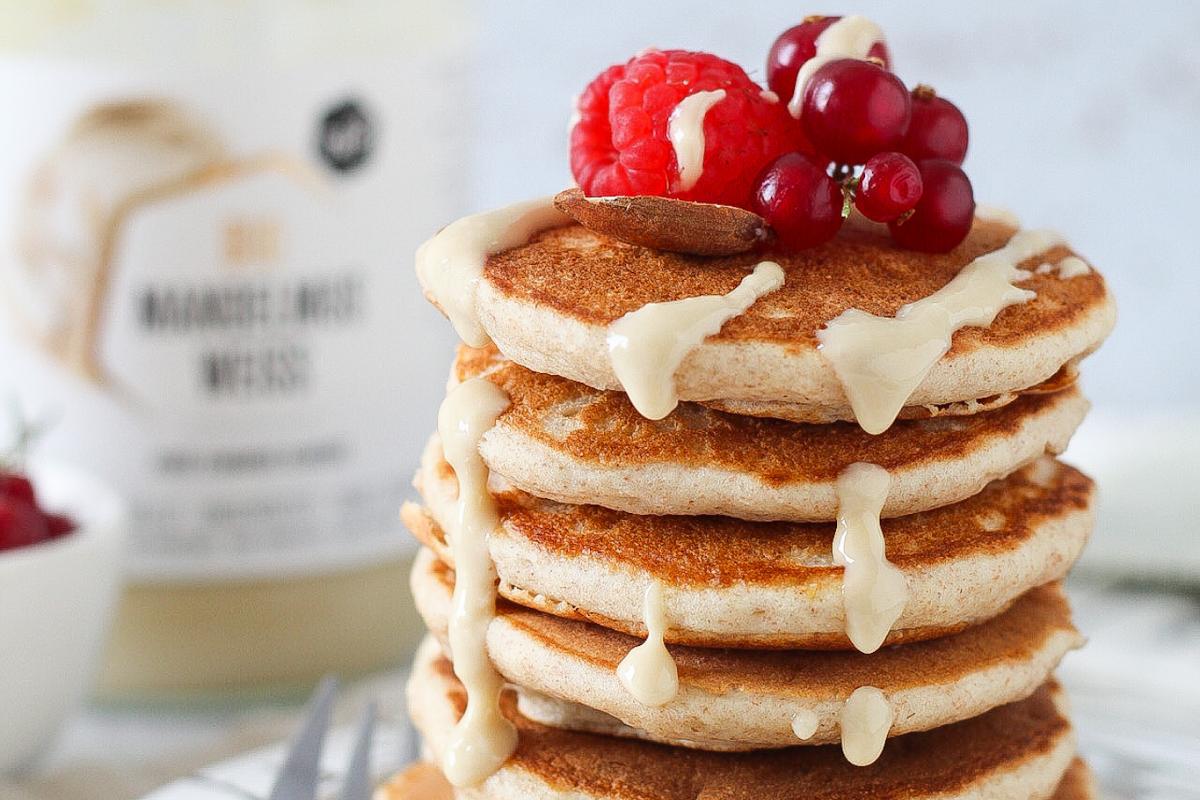 Pancakes integrali – senza zucchero aggiunto e lattosio
